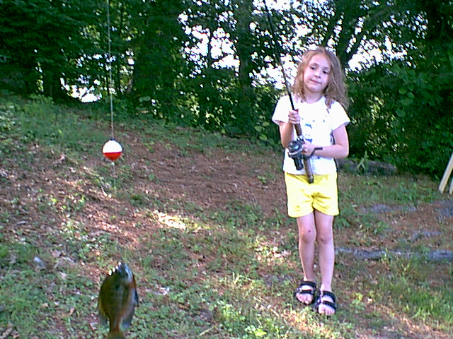 another cute pic of Abi fishing,,,,